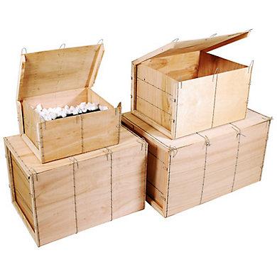 caisses bois contreplaqu mussy de 15 30 dm3. Black Bedroom Furniture Sets. Home Design Ideas