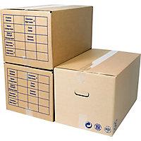 caisse d m nagement caisse carton container. Black Bedroom Furniture Sets. Home Design Ideas