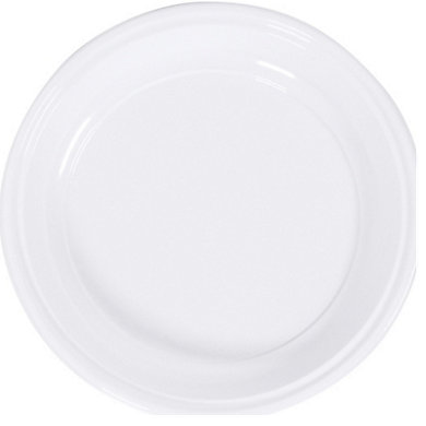 Assiette plastique (photo)