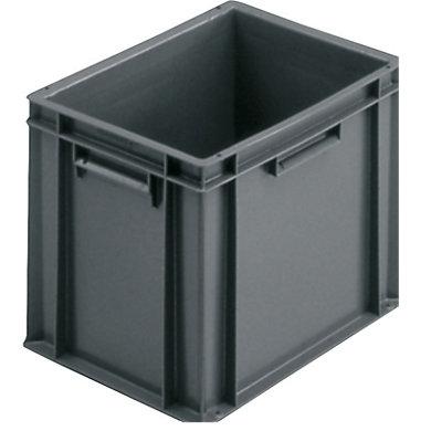 grand choix de 07e99 644b8 Bac plastique gerbable norme Europe premium et couvercle