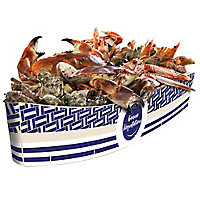 Barque plateau de fruits de mer