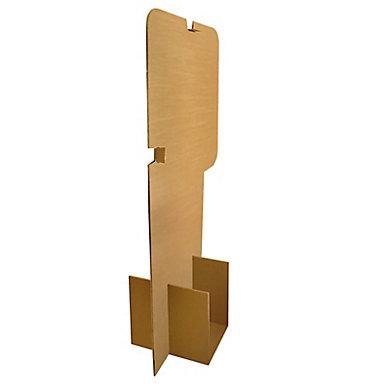 Barrière de protection en carton