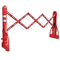 Barrière d'intervention extensible plastique à lester