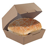 Boîte hamburger kraft