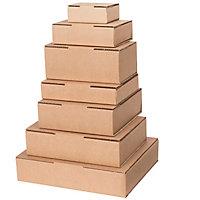 Boîte mousse Promopack® avec bande adhésive
