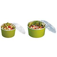 Boîte salade carton