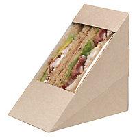 Boîte sandwich triangle kraft