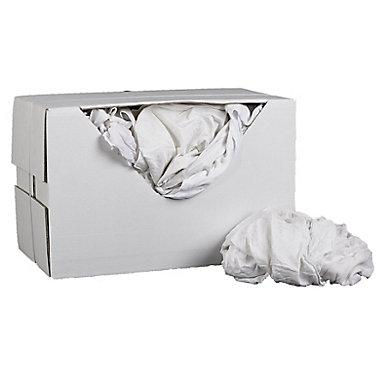 Chiffon blanc 100% coton (photo)