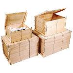 Caisse bois contreplaqué Mussy® - Paquet de 2