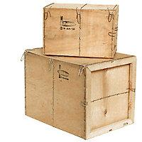 Caisse bois contreplaqué Mussy® - Paquet de 6