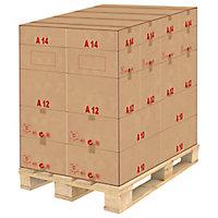 Caisse carton palettisable A - Norme ECT - Longueur de 300 à 600 mm