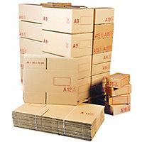 Caisse carton palettisable A – Norme LNE 4C + E