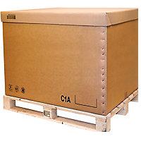 Caisse carton palettisable C2A, C1A et C2B