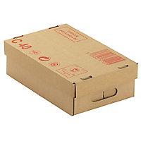 Caisse carton palettisable C40 avec couvercle