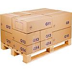 Caisse carton palettisable économique standard