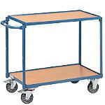 Chariot à plateaux bois 300 kg