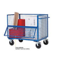 Chariot multi-usages bas 500 kg
