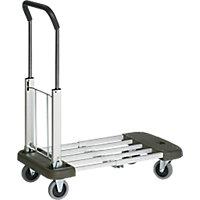 Chariot pliant aluminium