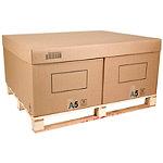 Coiffe pour caisse carton palettisable C2A, C1A et C2B