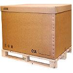 Coiffe pour caisse palettisable C2A, C1A et C2B