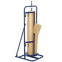 Dérouleur vertical à plateau tournant pour papier kraft