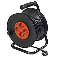 Enrouleur de câble électrique 40 m