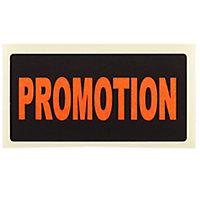 Étiquette adhésive promotionnelle