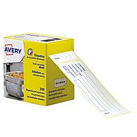 Étiquette de traçabilité alimentaire pré-imprimée AVERY®