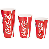 Gobelet carton impression Coca-Cola®