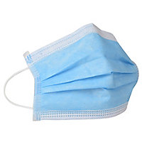 Masque chirurgical haute filtration 3 plis classe 1 type IIR
