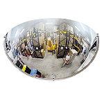 Miroir de sécurité intérieur 1/4 de sphère