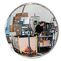 Miroir de sécurité intérieur rond