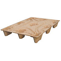 Palette bois moulée standard