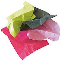 Papier de soie blanc et couleur