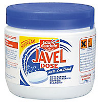 Pastille javel anticalcaire