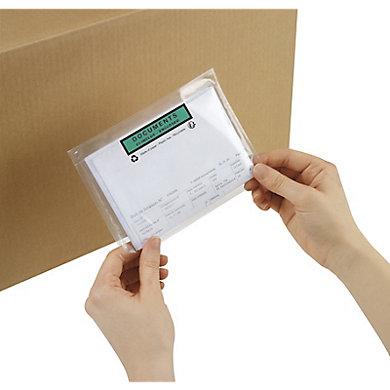 Pochette porte-documents en papier imprimée