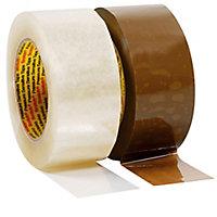 Ruban adhésif polypropylène silencieux Scotch® 3M 313