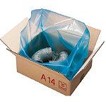 Sac à soufflet anticorrosion VCI pour caisse carton palettisable