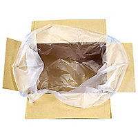 Sac plastique fond de caisse transparent