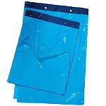 Sac plastique standard liassé à ouverture décalée 20 et 28 µ