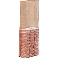 Sachet polypropylène fond carton