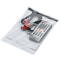Sachet transparent à fermeture zip 50 µ