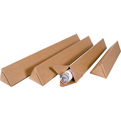 Tube carton triangulaire