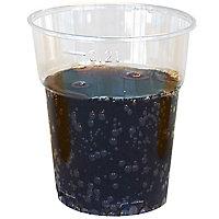Verre plastique cristal