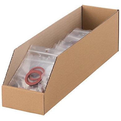 Bac à bec carton 400X100X110mm (photo)