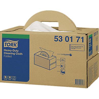 Chiffon non tissé de nettoyage Tork® ultra résistant 530 BOÎTE DISTRIBUTRICE TORK (photo)